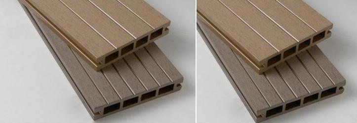 Террасная доска из композитной древесины XylTech, профиль Havana