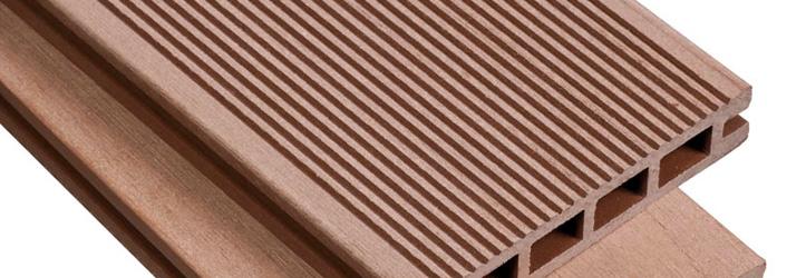 Террасная доска из композитной древесины XylTech, профиль Natural