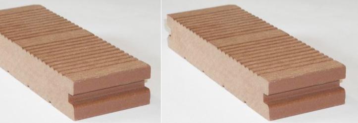 Террасная доска из композитной древесины XylTech, профиль Robusto